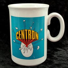 Centron US West Communications Vintage Ceramic Coffee Cup Mug #USWest