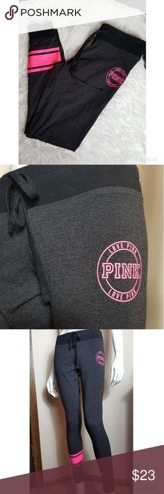 vs pink yogas like new! PINK Pants Leggings