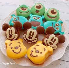 Daiso, Sweets Recipes, Cookie Recipes, Korean Cake, Halloween Party Treats, Cute Food Art, Christmas Deserts, Fruit Arrangements, Cupcakes