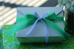 Tiffy Spiffy Fancy Food Box - Bridal shower or wedding box lunch or just for the girls get-together.
