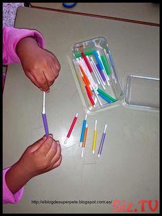 30 Montessori activities for toddlers - Aluno On Motor Skills Activities, Toddler Learning Activities, Montessori Activities, Infant Activities, Autism Activities, Sorting Activities, Montessori Toddler, Montessori Trays, Baby Lernen