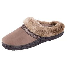 Isotoner Women's Smartzone Gel Comfort Technology Slippers (Large / 8.5-9 B(M) US, Smokey Taupe) *** To view further for this item, visit the image link.