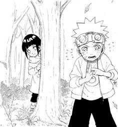 Naruto and Hinata (Naruto) (c) Studio Pierrot & Viz Media Naruhina, Naruto Uzumaki, Anime Naruto, Naruto Sasuke Sakura, Naruto Cute, Hinata Hyuga, Manga Anime, Uzumaki Family, Naruto Family