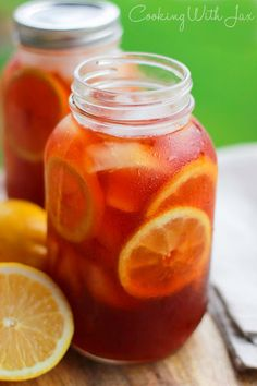 Homemade Iced Tea - Brewed From Scratch!