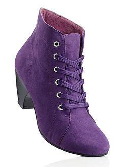 Purple Faux Suede .... Bon Prix.... Purple Love, All Things Purple, Shades Of Purple, Pink Purple, Purple Stuff, Purple Suede, Heeled Boots, Shoe Boots, Or Violet