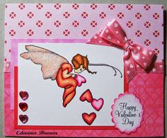 Edwina's Creations: Happy Valentine's Day card
