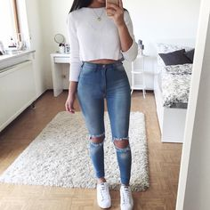 "16.6k Likes, 251 Comments - Thanya W. (@thanyaw) on Instagram: "" Tough Luck Jeans: @fashionnova (save 15% by using the code 'XOThanya')"""