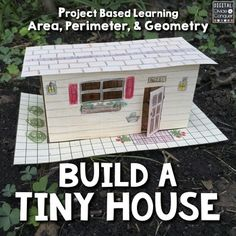 If youve been watching TV or reading magazines, chances are you've seen a tiny house.  These little homes are everywhere...and now, we're asking students to make their own 3D version! Build A Tiny House is a project based learning (PBL) activity that'll put the designing into the hands of the students.