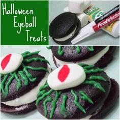 Monster Eyeball Whoopie Pies - CUTE.