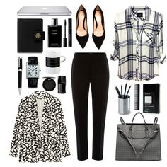 """Working girl"" by lelouka on Polyvore"