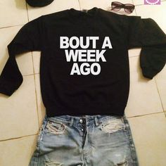 Weirdo sweatshirt jumper gift cool fashion girls UNISEX sizing women sweater funny cute teens bestfriends dope teenagers from stupidstyle on Etsy. Outfits For Teens, Cool Outfits, Summer Outfits, Casual Outfits, Vogue, Cute Shirts, Funny Shirts, Boys Shirts, Mode Style