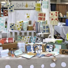 Craft Booth lots of layers