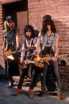 Duff Mckagan Izzy Stradlin Slash of Guns N' Roses