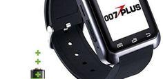 007plus U80 U8 Bluetooth 4.0 Fitness Smart Watch Phone for Smartphone Android…