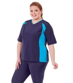 quikenergy plus size fitted swim capris by junoactive