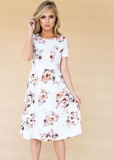 White Luciana Dress,