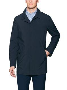 Allegri - Water Resistant Trench Coat (Navy)