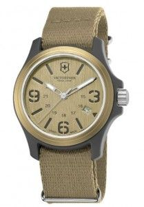 Swiss Army Quartz Brown Dial Men's Watch – V241516