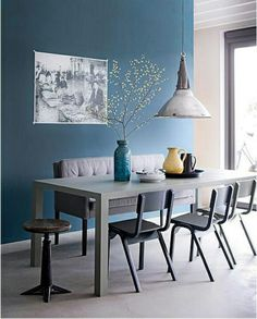 1000 Images About Salon Bleu On Pinterest Salons Bureaus And Blue Walls