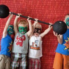 Superhero Birthday Party {Superhero}