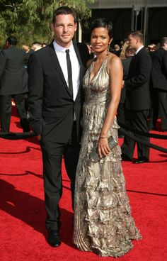 Justin Chambers Wife | Justin Chambers Walks His Wife Down the Red Carpet at the 59th Annual ...