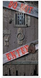 Haunted Halloween Door Cover $3.88 this one could work for vampires also