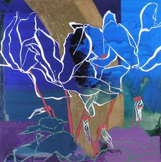 Robert Kushner. White Cyclamen I. Gallery Jerald Melberg