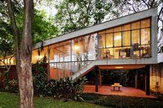 João Batista Vilanova Artigas - Architect's own home, São Paulo 1949.