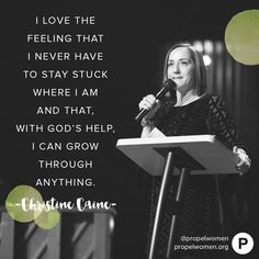 God wants us to navigate change so we always flourish through it. We're in this together! —Christine Caine