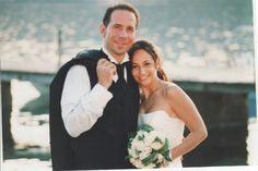 By the sea (Alghero,  Sardinia) Me and my husband.  2006