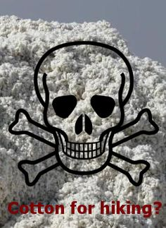 Why is cotton bad for hiking? Check out why not to wear cotton clothes for hiking.