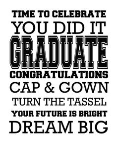 We are handing out little bags of popcorn at a graduation party. I'm adding our mini subway art printable to dress up these party fav. Graduation Words, Graduation Images, Graduation Scrapbook, 8th Grade Graduation, Graduation Cap Designs, Graduation Quotes, High School Graduation, Graduation Announcements, Graduation Cap Decoration