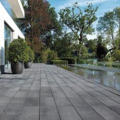 Umbriano grauanthrazit Terrassenplatten 02