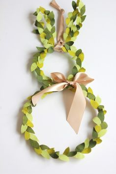 Bunny topiary wreath for your door - The House That Lars Built
