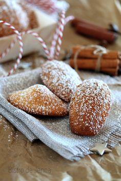 Madeleines de Commercy aux épices de Noël