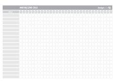 Organizer do wydrukowania - miesięczne cele - Designyourlife.pl