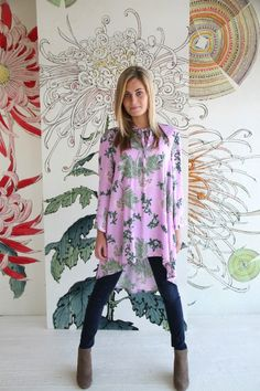 Amy Butler's Alchemy Studio Fabrics with The Roxanne Top from Victory Patterns