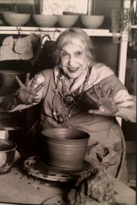 beatrice wood (1893-1998) American ceramic artist LOOKS LIKE MY GRANDMOM FROM ANGELINA...
