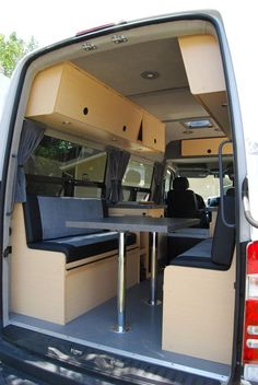 Details and pictures on why and how we ended up converting a Sprinter van into a Sprinter RV that sleeps and uses only solar and diesel power. Sprinter Van Conversion, Sprinter Camper, Camper Van Conversion Diy, Benz Sprinter, Kombi Motorhome, Truck Camper, Camper Life, Travel Camper, Transit Camper