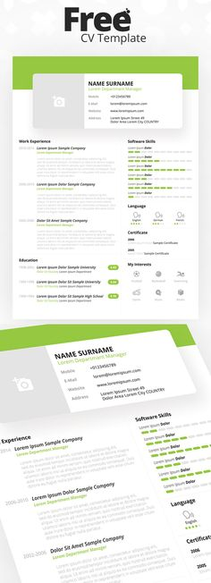 Free Simle Resume Template #resumetemplate #coverletter - free resume and cover letter