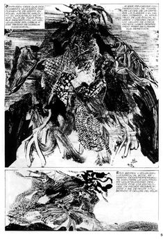 Alberto Breccia and The Power of Suggestion in Horror Comic's Imagery