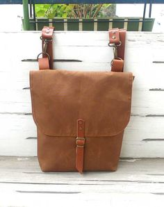 Free Express Shipping Brown Waterproof Canvas Mini Backpack