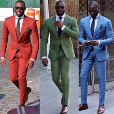 WHAT MEN WEAR - Dare to wear color.