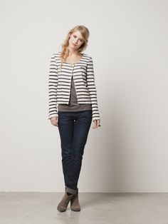 Sailor inspired jacket: Scotch & Soda