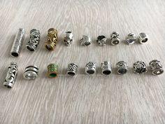 Aliexpress.com: Comprar Envío gratis 18 Unids/lote mix set para trenzar el pelo dreadlock dread beads clips cuff aprox 5 7mm agujero de hair beads for dreadlocks fiable proveedores en Reggae shop