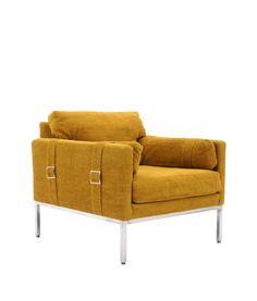 Milo Baughman; Lounge Chair for Thayer Coggin, 1970s.