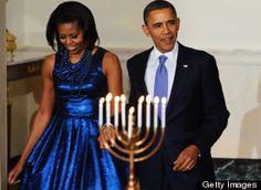 Happy Hanukkah from the Obamas