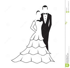 Image result for silhouette images of bride dress