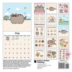 pusheen the cat 2016 wall calendar by claire belton 2015 calendar ebay