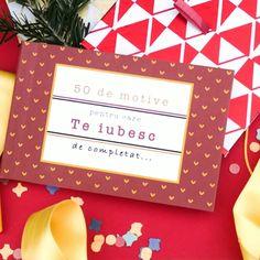 Completează cele 50 de motive în felul tău si creează un cadou de suflet pentru persoana dragă.  #MindBlowerCadouri #CadouriCraciun #CadouriIesiteDinMinti #CadouriTraznite #CadouriInedite #DaruiesteBucurie #wow #gifts #giftsforher #giftshop #giftsforhim #GIFTSET #giftsformom #giftsets #giftsforkids #giftstore #giftsforgirls #GiftsForMen #giftsideas #giftshopping #giftsforyou #GiftsOnline #giftsforgeeks #giftspecial #valentine'sday #ziuaindragostitilor #cadoupentruea #myvalentine #dragobete E Commerce, Frame, Home Decor, Picture Frame, Ecommerce, Decoration Home, Room Decor, Frames, Hoop